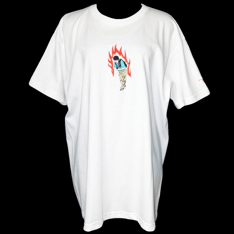 戦士Tシャツ 白