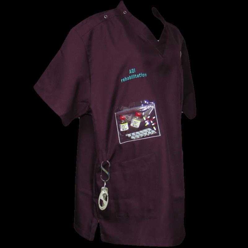 AOIリハビリテーション 入居者脱走事件 証拠品看護士用白衣 艶姒