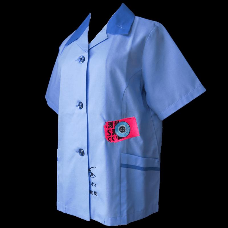 アオイ技術開発 SS測量 - Industrial Shirts / 女子社員用 その1