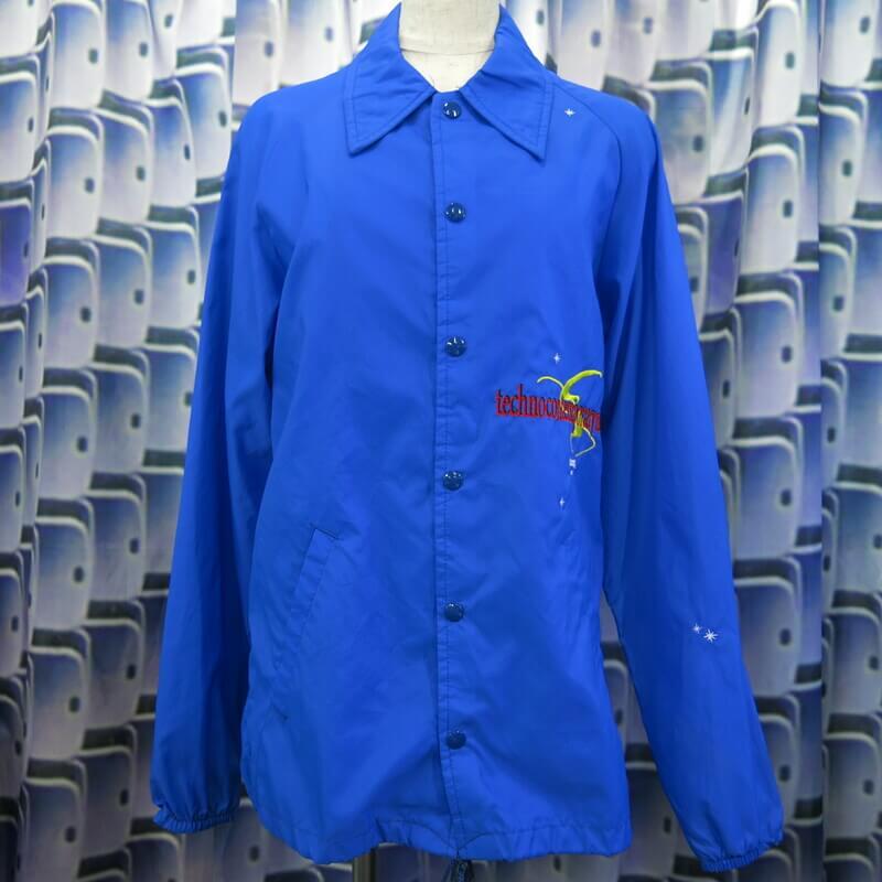 Box Carriers 社訓 coach jacket  BLUE