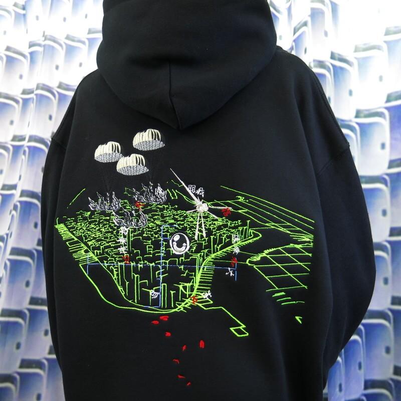 心清者 VIEW hoodie